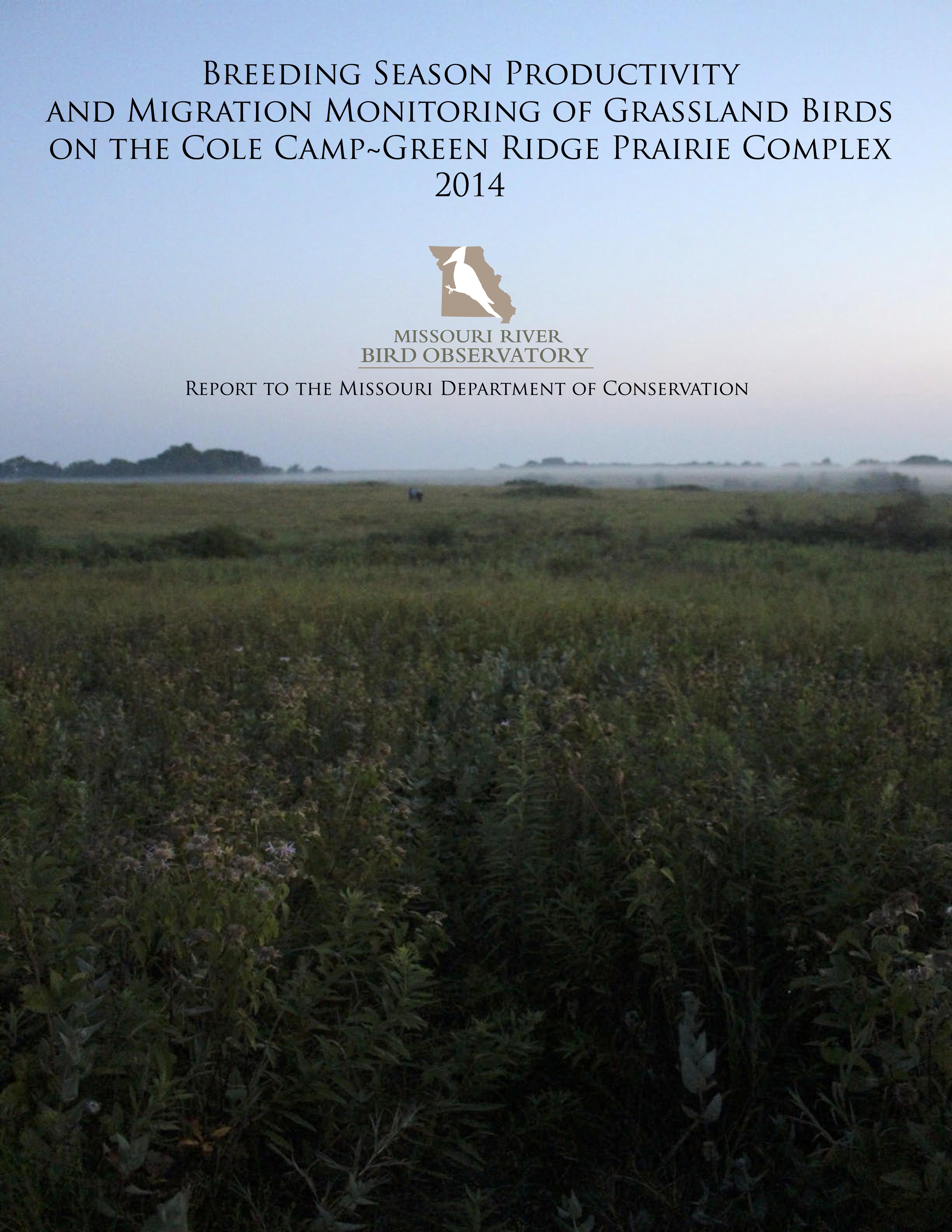 MDC Cole Camp-Green Ridge 2014 Report