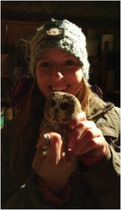 Myself with Owl