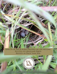 2016 Nest Success Report Cover