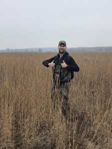 Wetland surveyor Matt